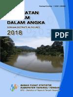 Kecamatan Sorkam Dalam Angka 2018