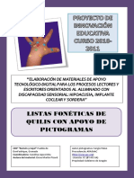 LISTAS FONÉTICAS QUILIS CON PICTOGRAMAS.pdf