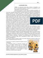 LA ESTACIÓN TOTAL (Topografía II) [Ing. Guillermo N. Bustos].pdf