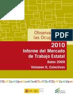Observatorio de las Ocupaciones 2010. Informe del Mercadode Trabajo Estatal