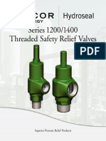 Hydro SafetyReliefValves Threaded Series12001400