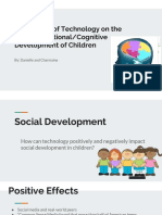 the impact of technology on the social 2femotional 2fcognitive development of children