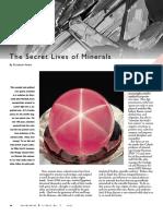Secret Lives of Minerals