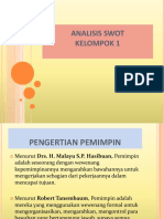Analisis Swot Ppt