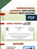 Ppt 2 (Biodesulfurisasi High Sulfur) Sitti Ratmi N.