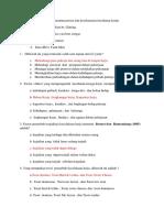 Tugas Soal Ujian Kelompok 13 a k3