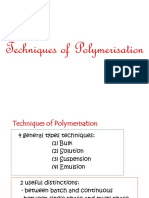 No. 6-2 Techniques of Polymerisation - New