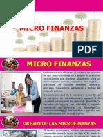Micro Finanzas