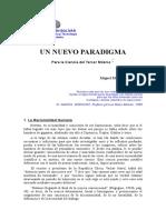 Miguel Martínez Miguélez - Hacia Un Nuevo Paradigma