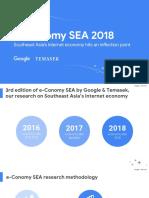 E-Conomy SEA 2018 by Google & Temasek
