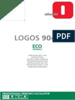 istruzioni calcolatrice logos904t