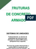Aula 1 - Estruturas de Concreto Armado