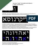 KABBALAH – Meditación para dinero prosperidad abundancia economica