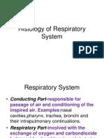 Histologi Sistem Respirasi 1