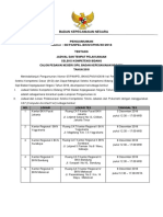 Pengumuman Cpns 2018 Jadwal Tempat Pelaksanaan Skb