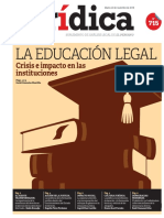 LA EDUCACIÓN LEGAL
