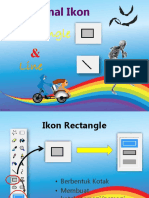Mengenal Ikon Rectangle Dan Line TIK KElas 3