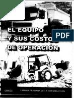 El Equipo y Sus Costos de Operaciones
