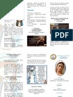 Triptico Virgen Maria