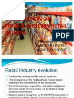 Presentation on f&G Retail in India