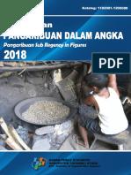 Kecamatan Pangaribuan Dalam Angka 2018