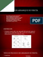 Procesos Sin Arranque de Viruta