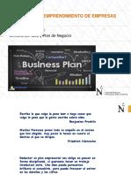 Semana 03 Idea y Plan de Negocio