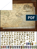 Gloomhaven maps and tokens