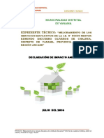 Declaracion de Impacta Ambiental1