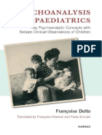 Psychoanalisis and Paediatrics