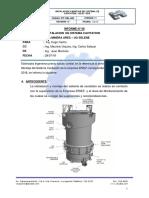 Inf. Tec. 01- Informe Instalacion de Sistema Cavitation- Uo Selene