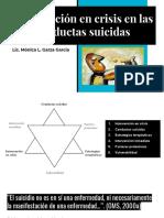 Intervención en Crisis en Las Conductas Suicidas