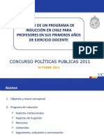 Ppt Programa Induccion Profesores Primeros Anos
