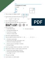 4-6 (Fractions, Decimals, Percentage)