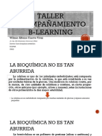 1a Jornada B-Learning - BIOMOLECULAS