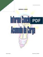 Metodología Para Informe de Acomodo de Cargas Eléctrico
