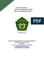 Pedoman PMB New 2017