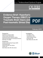 Hyperbaric Oxygen in Traumatic Brain Injury