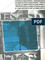 Revista Biblioteca Nacional n24 Octubre 1986