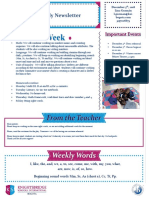 weekly newsletter dec 3