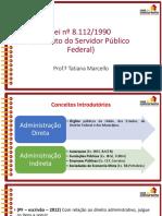 Slides Aula 4 Pf Agente Administrativo Direito Administraivo Tatiana Marcello