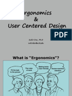 Ergonomics and User Centered Design 18.09.2013