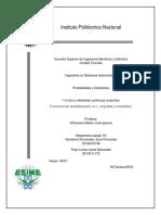 Probabilidad y Estadistica (Reporte)