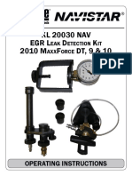 Maxxforce DT, 9 & 10 EPA10 Series - EGR Cooler Leak Detection Tool by K-Line #KL-20030-NAV