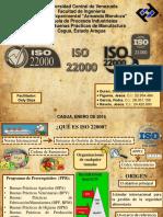 Diapositivas ISO 22000