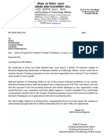 No Objection Certificate TNP