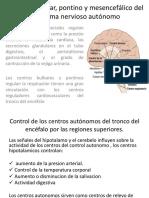 Control Bulbar, Pontino y Mesencefálico