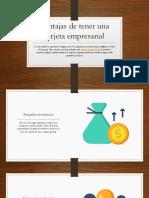 Ventajas de Tener Una Tarjeta Empresarial