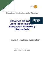 Sesiones de Tutoria