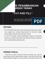 Presentasi Cut and Fill